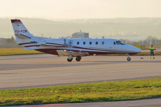 Cessna 560XL Citation Excel+ - YU-PZM